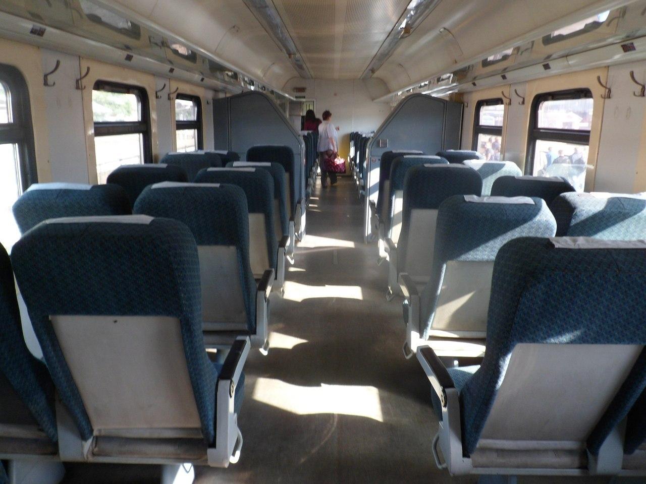 Схема сидячего вагона москва-брянск