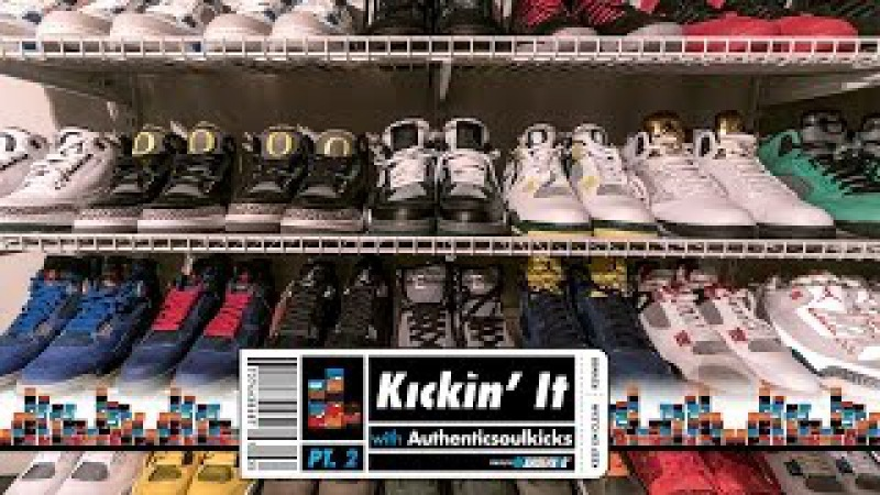 The Rarest Sample Jordan Collection!! Kickin' It With Authenticsoulkicks (Part 2 of 3)