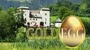 Замок Золотое Яйцо на берегу озера - Schloss Goldegg