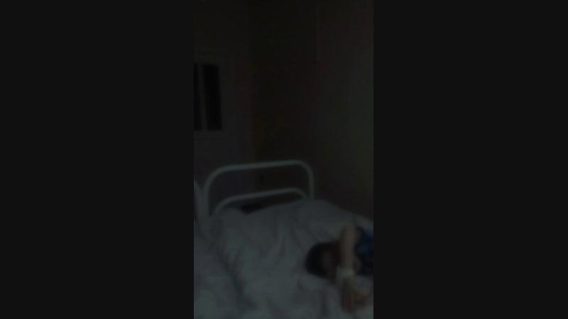 В больничке с сыном