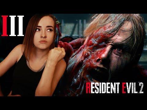 Resident Evil 2 Remake кампания за Клэр. Босс Биркин я тебя ненавижу. ФИНАЛ ЗА КЛЕР