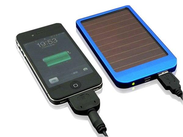 мобильная солнечная зарядка