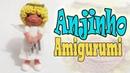 Anjinho em crochê amigurumi parte3