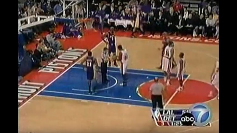 Los Angeles vs Detroit- Issues- Brian Cook Andrew Bynum Kwame Brown