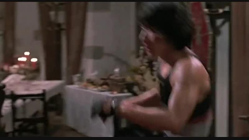 Одна из лучших сцен драки в истории кинематогрофа: Джеки Чан и Бени Уркидеc