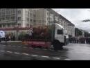 На парадзе ў Віцебску грузавік з партызанамі праверыў тармазы
