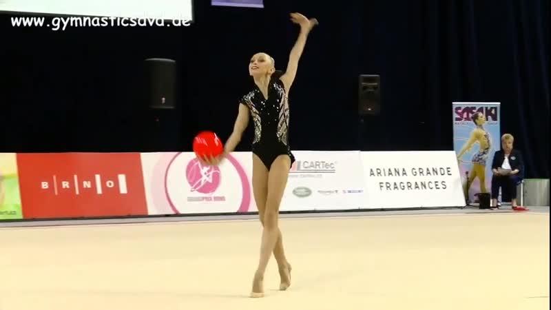 Виктория Оноприенко Мяч Финал Гран При Брно 2019