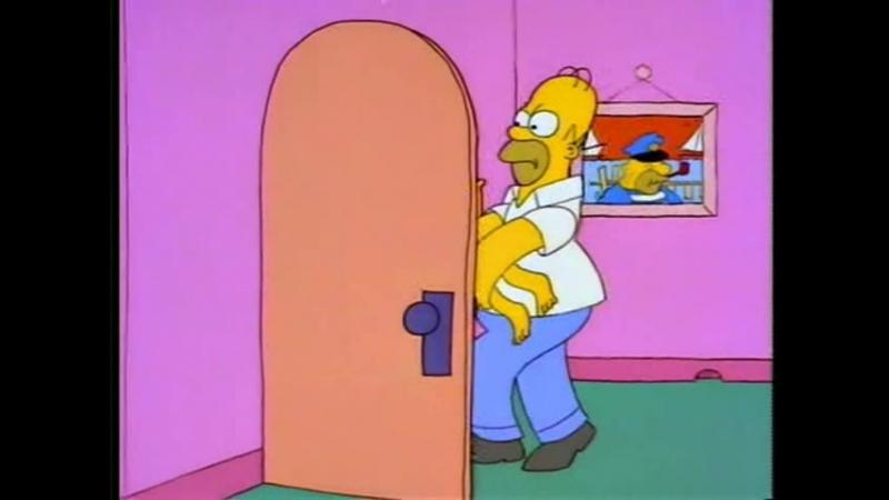 Симпсоны - Ванная