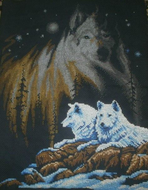 Красивые схемы щенков и взрослых собак.  Часть 1. Часть 2. красивые схемы вышивки с волками.