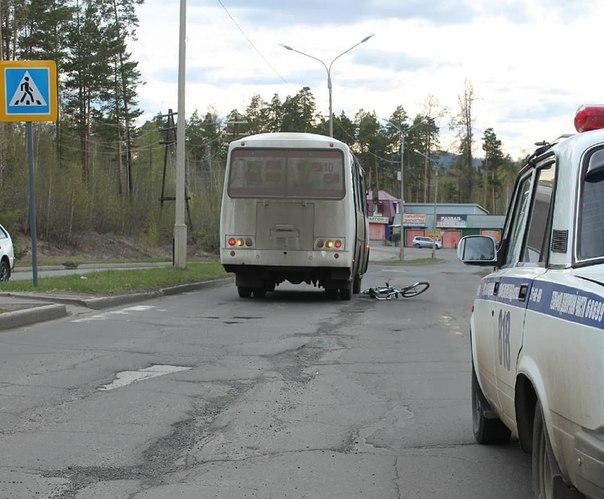 Усть-Илимск. Автобус сбил школьника