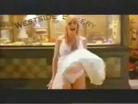 Gina Lee Nolin wind skirt windy