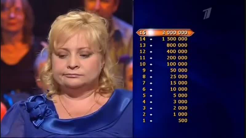 Кто хочет стать миллионером (08.09.2012)