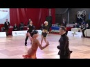 Moldovan - Tatar, ROU | 2014 World U-21 LAT R 4 R | DanceSport Total