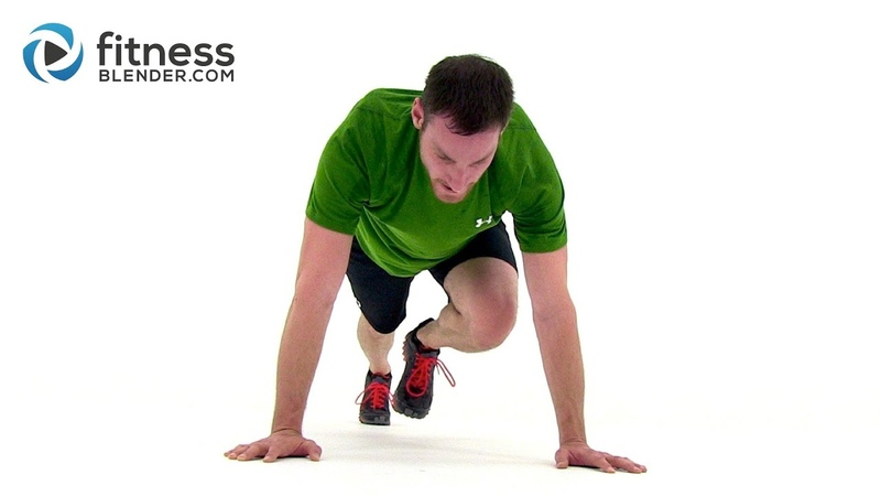 HIIT the Ground Running - 33 Min High Intensity Interval Training for Endurance Total Body Toning