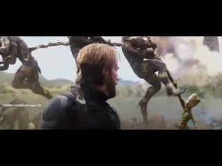 Стив Роджерс   Тор   Грут   Мстители Война Бесконечности 2018
