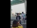 FANCAM 22.06.18 Дэхен в аэропорту Инчхон вылетел в Бангкок