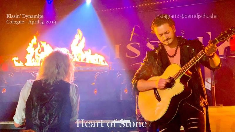 Kissin Dynamite - Heart of Stone @Kantine, Cologne - April 5, 2019 LIVE 4K