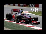 F1 Engine Battle V12 vs V10 vs V8 vs V6 Turbo (Old and New) Pure Sound