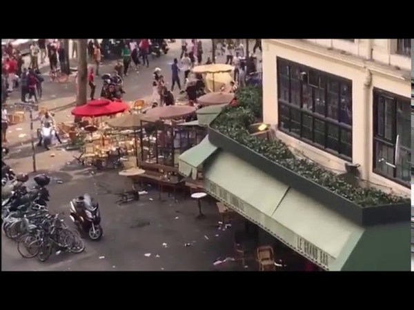 Riots Start in France After World Cup Win