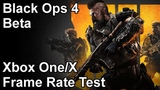 Call of Duty Black Ops 4 Xbox One and Xbox One X Frame Rate Test (Beta)