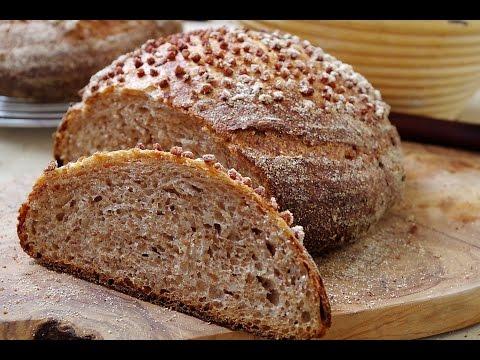 Гречневый хлеб на закваске
