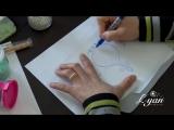 L AYN Création схема бордюра для вышивки