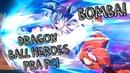 Bomba Super Dragon Ball Heroes anunciado pra PC e novo RPG de Dragon Ball anunciado