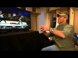 Shawn Michaels and Hornswoggle square off - WWE App Exclusive