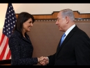 I confronted @nikkihaley about Israels killing of peaceful protestors in Gaza. Watch how she reacted.