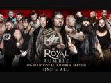PPV Royal Rumble 2016 на русском языке (Прямой Эфир)