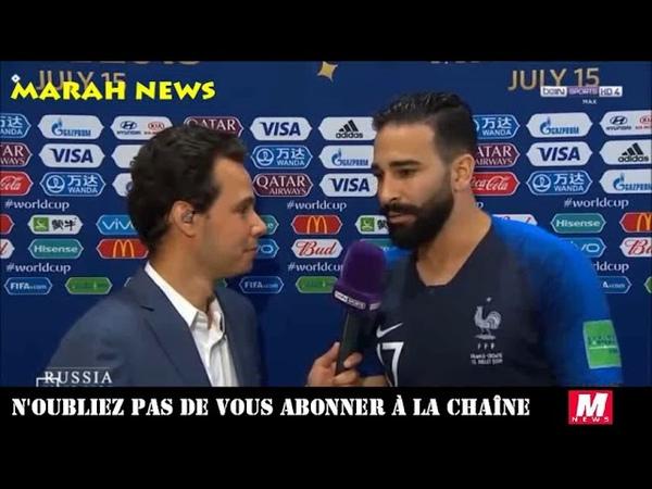 Adil Rami J'ai gagné la coupe du monde avec la France mais je suis fier d'être marocain