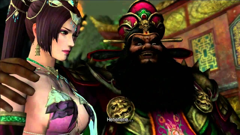 Dynasty Warriors 8 Xtreme Legends Lu Bu not satisfied with Dong Zhuo