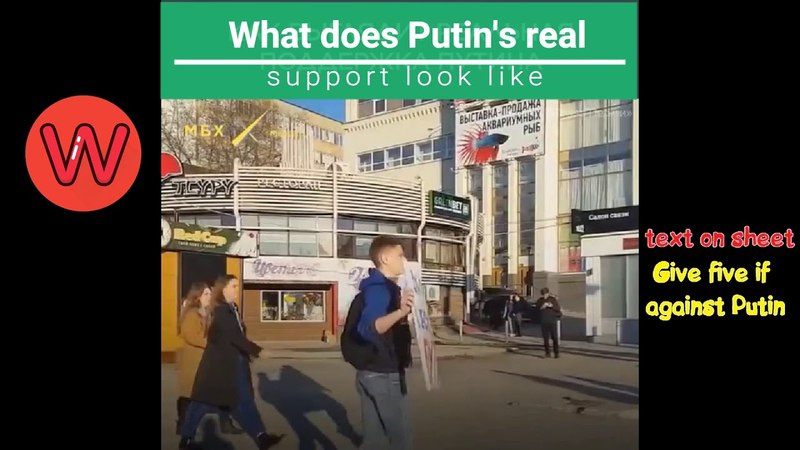 What is Putin's Real Support? Confrontation!