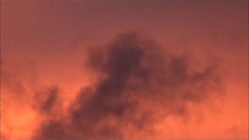 Небо закат