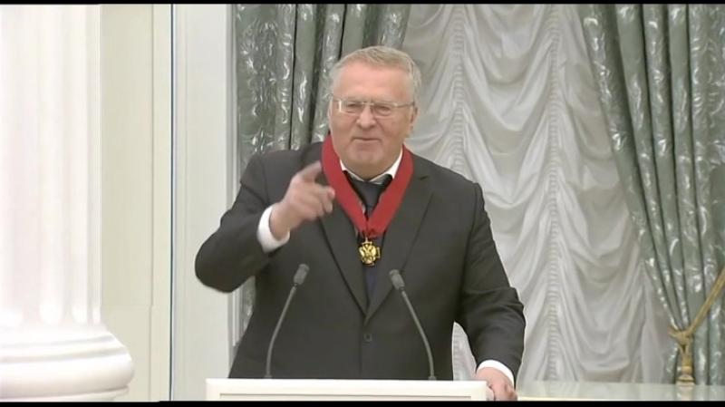 Владимир Вольфович Жириновский: Боже, Царя храни!