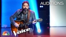 "Dave Fenley Slays Cover of Travis Tritt's ""Help Me Hold On"" - The Voice 2018 Blind Auditions"