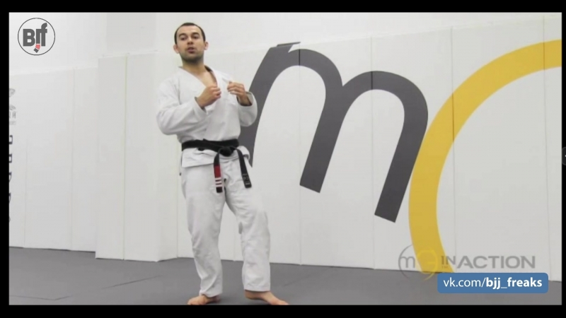 Marcelo Garcia - Breaking Gi Grips from Standing Kick Escape vs Foot Sweep - Single Leg Takedown mgarcia