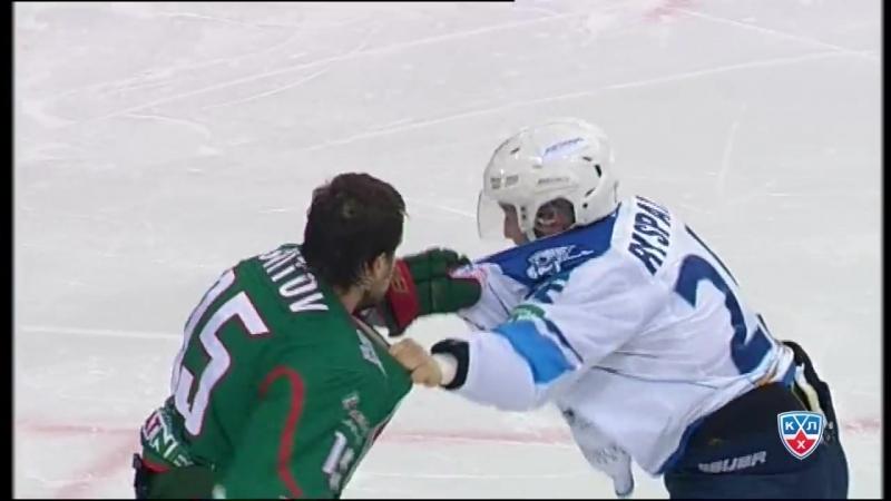 Бой КХЛ- Свитов VS Рыспаев - KHL Fight- Svitov VS Ryspayev.mp4