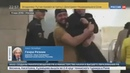 Новости на Россия 24 • Пьяного хулигана, пронесшего росгвардейца по вестибюлю метро, могут сурово наказать