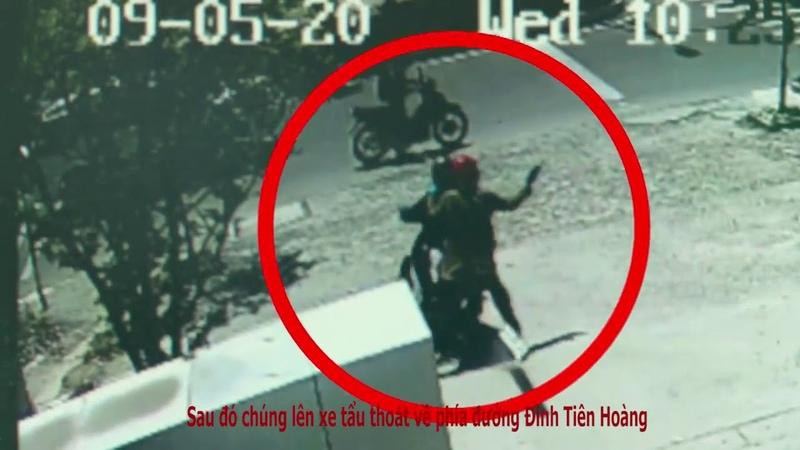 05/09/2018: Diễn biến vụ 2 đối tượng cướp tại PGD Vietcombank Ninh Hoà trên đường 2/4 -