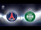 Paris Saint Germain PSG vs Saint Etienne