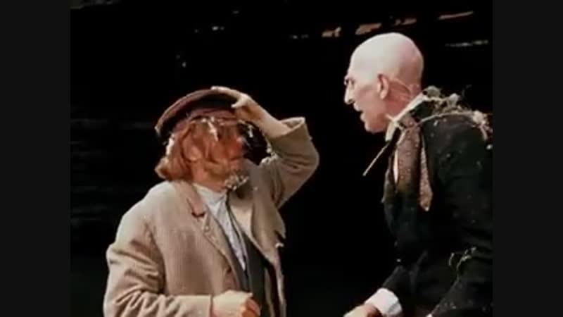 А может быть вы святой отец партийный Вы аферист Я вам морду набью 12 стульев 1971
