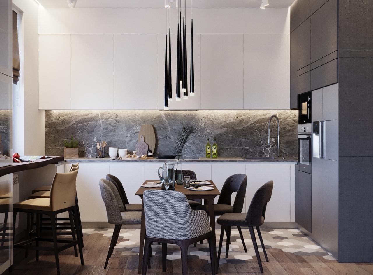 Дизайн квартиры в Зеленограде, 106 кв.