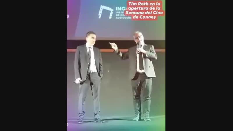 Tim Roth en el Gaumont Semana del Cine de Cannes en Buenos Aires
