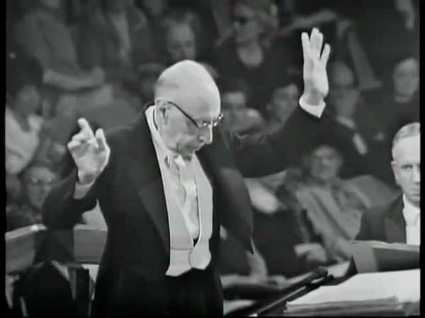Дирижер: Игорь Стравинский, сюита из балета «Жар-птица» (1965)