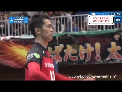 Suntory Sunbird vs Toray Arrow l 2018/2019 Japan Men Volleyball Premier l 09.Feb.2019