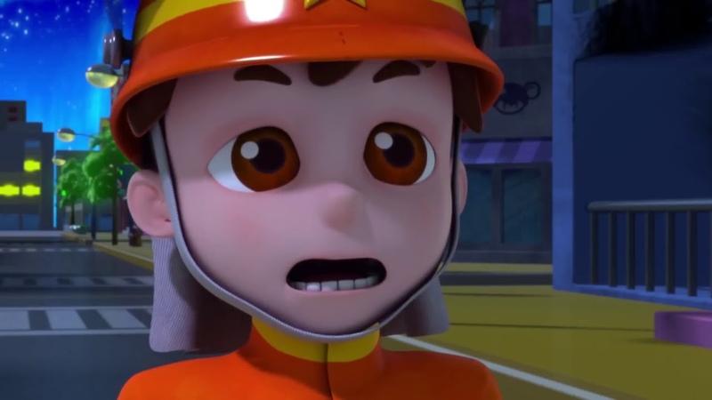 Защитники снов . Маленький пожарный . Анимационный сериал для детей Серия 39