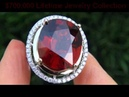 UNHEATED UNTREATED 19.52 Carat Spessartite Garnet Diamond Ring Solid 14K Gold