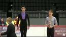 Tallinn Trophy Jr. Men's Victory Ceremony - December 1, 2018 - Артур Даниелян, Макар Игнатов