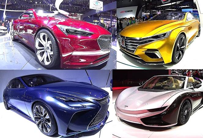 TOP 6 CONCEPT sedans 2016 2017 Nissan IDS Buick Avista Lexus LF FC Roewe Vision R K50